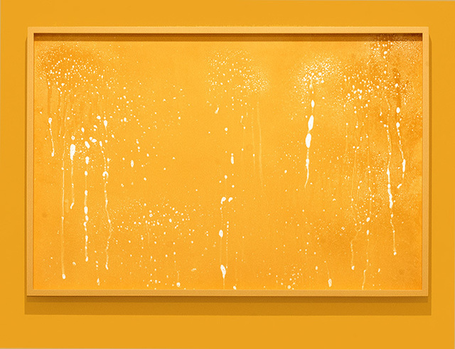 ", '""Windex on glass on orange"",' 2016, Temnikova & Kasela"