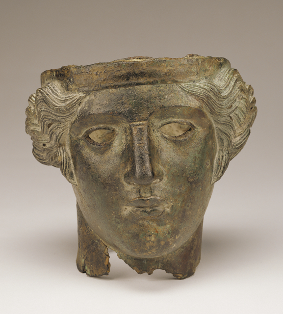 'Head of Bacchus',  2nd century, J. Paul Getty Museum
