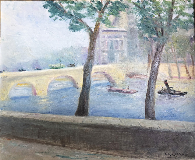, 'View of the Louvre from Quai Voltaire, Paris 1930,' 1930, ArtGiverny