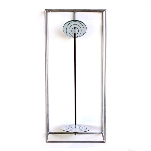 Claudio Alvarez, 'Alvo (Target)', 2020, Sculpture, Stainless steel, wood, mirror, formica and magnet, Galeria Ybakatu