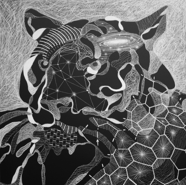 , 'Sans titre (Tigre),' 2014, galerie du jour agnès b.