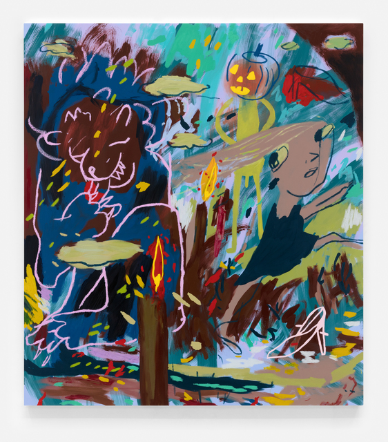 , 'Manifold,' 2018, VARIOUS SMALL FIRES