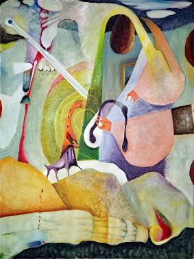 , 'Feeding Time,' 2018, Walter Wickiser Gallery