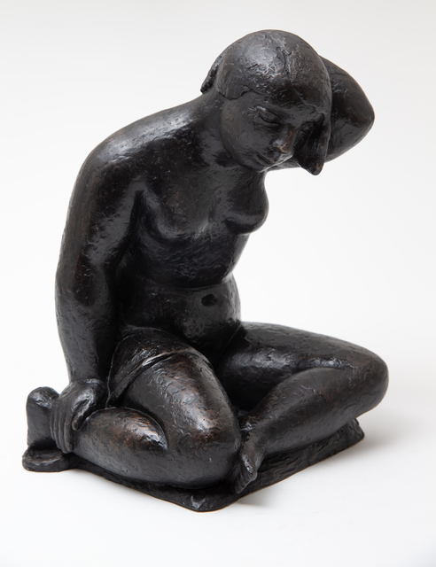 , 'Woman Seated,' after the 1926 original casting-cast in 2019 in an edition of 10 with permission from the Dobson estate, Sylvester Fine Art