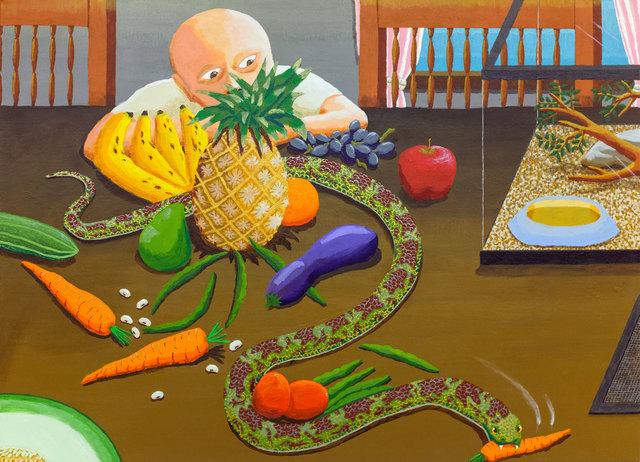 , 'Vegetarian Serpent,' 2015, Upfor