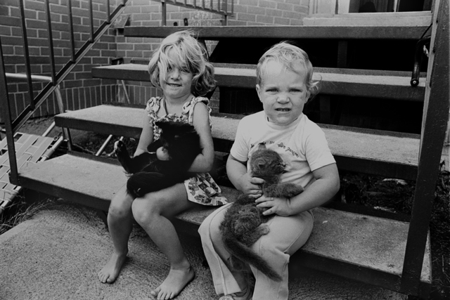 , 'Enfants avec Chats,' 1970, The Print Atelier