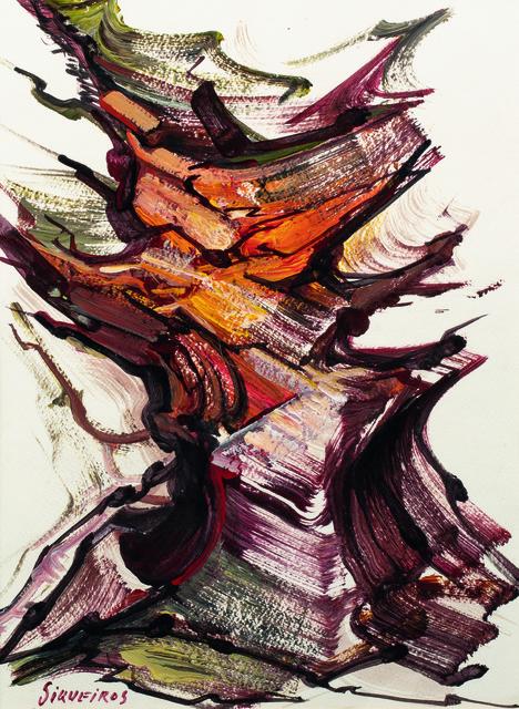 David Alfaro Siqueiros, 'Force de formes et de couleurs (Fuerza de forma y color)', Leclere