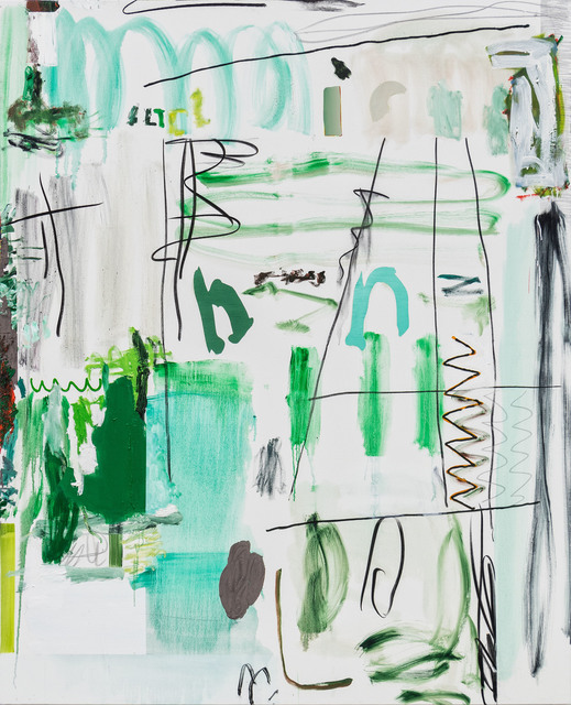 , 'Untitled (Green),' 2019, NINO MIER GALLERY