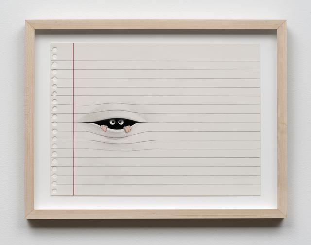 , 'Between the Lines,' 2015, Castor Gallery