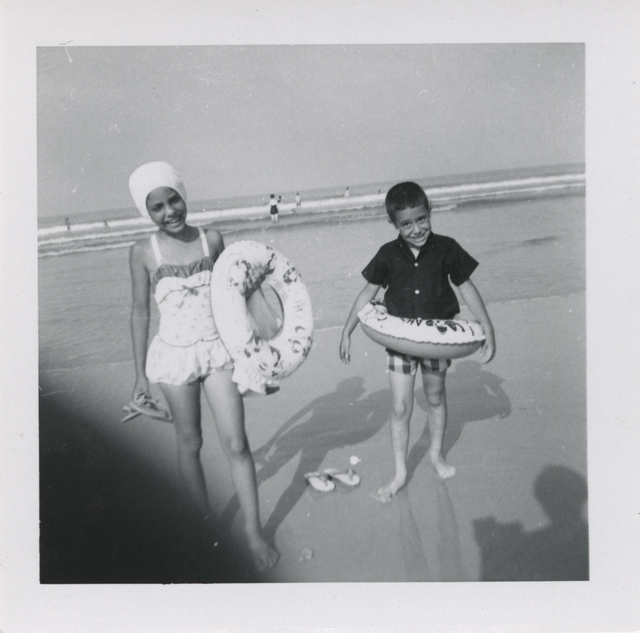 , 'Untitled [Shadow, two children at the beach],' , Fraenkel Gallery