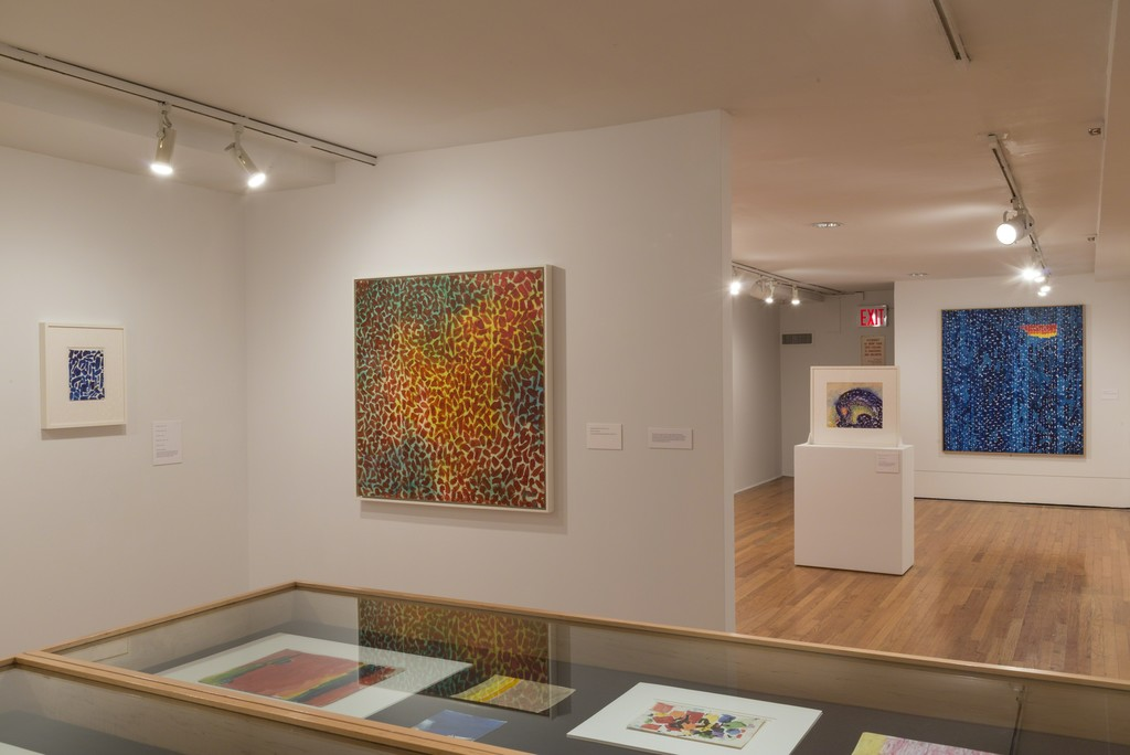Alma Thomas (installation view). The Studio Museum in Harlem, July 14–October 30, 2016; Photo: Adam Reich