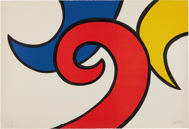 Alexander Calder, 'Les Vagues (The Waves)', 1971, Phillips