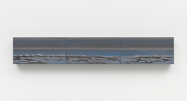 , 'Nocturnal (Horizontal Triptych),' 2016, Lehmann Maupin