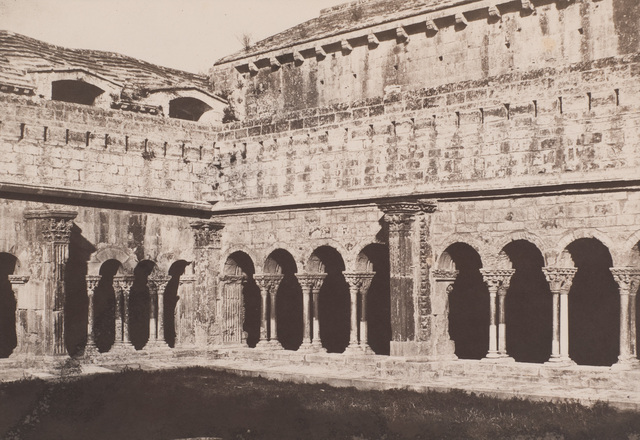, 'The Cloister of Saint-Trophime, Arles,' 1852, Robert Koch Gallery