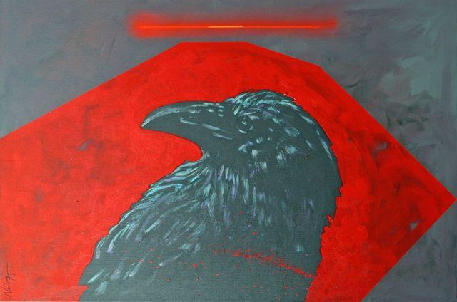 ", '""Raven's Halo"",' 2018, Bonner David Galleries"