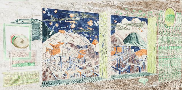 , 'Telt utsikt,' 2016, ANNAELLEGALLERY