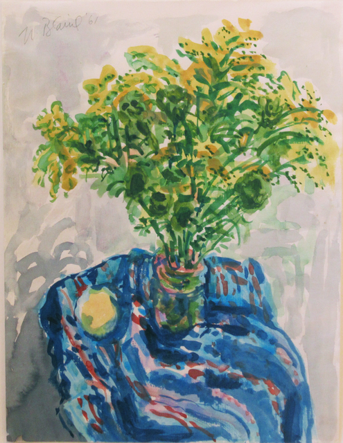 , 'Goldenrod Bouquet ,' 1961, Reynolds Gallery