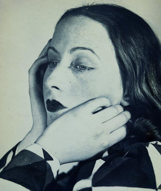 , 'Portrait Composition, Cora,' 1931, Jeu de Paume