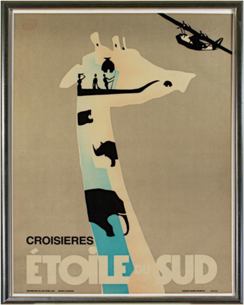 Berny & Peignot, 'Croisieres Etoile Du Sud', 1986, David Barnett Gallery