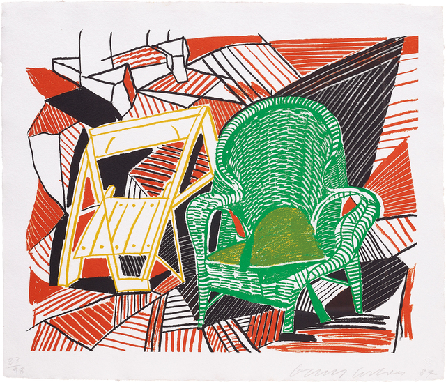 David Hockney, 'Two Pembroke Studio Chairs, from the The Moving Focus Series', 1984, Phillips