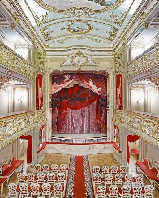 David Burdeny, 'Yusopf Theatre (Curtain), St. Petersburg, Russia', 2015, Galerie de Bellefeuille