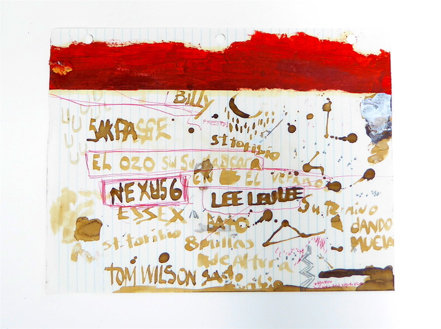 , 'Sin Título (Narrativos de la casa de cartón),' 2017, 80M2 Livia Benavides