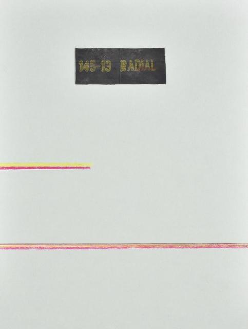 Carol Rama, 'Luogo E Segni', 1978, Itineris