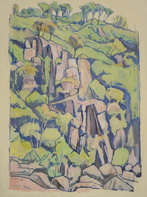 , 'Cataract Gorge Scroll  Format 1,' 2016, Charles Nodrum Gallery