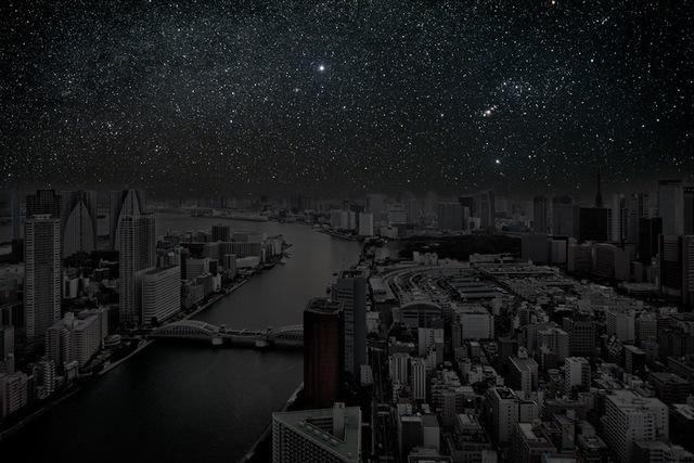 , 'Tokyo 35° 41' 36'' N 2011-11-16 Lst 23:16,' 2012, Danziger Gallery