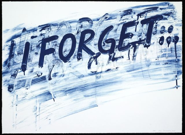 , 'I Forget,' 2014, Two Palms