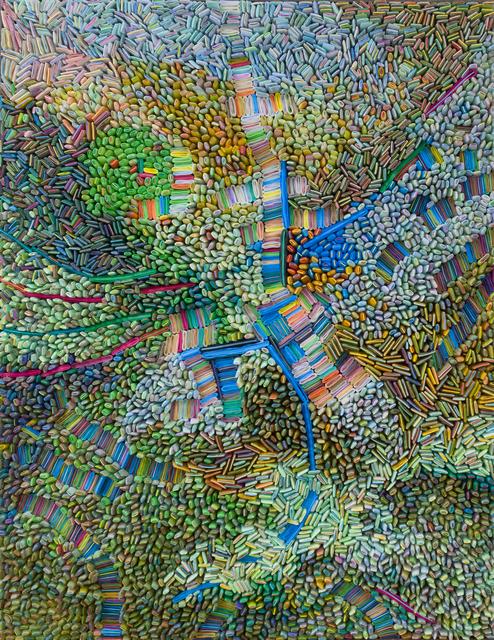 Ilhwa Kim, 'Space Sample 32', 2019, Sculpture, Hand-dyed hanji paper, HOFA Gallery (House of Fine Art)