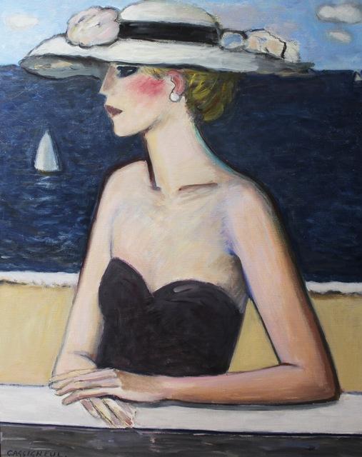 Jean-Pierre Cassigneul, 'Devant la mer', 2015, Daphne Alazraki Fine Art