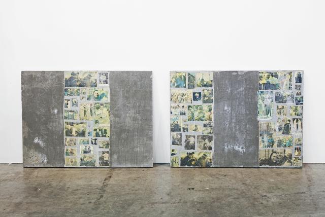 , 'Primo Accordo (diptych),' 2013, SPROVIERI