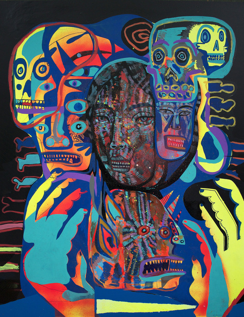 , 'Ghost (Black),' 2014, Galerie Matthew Namour