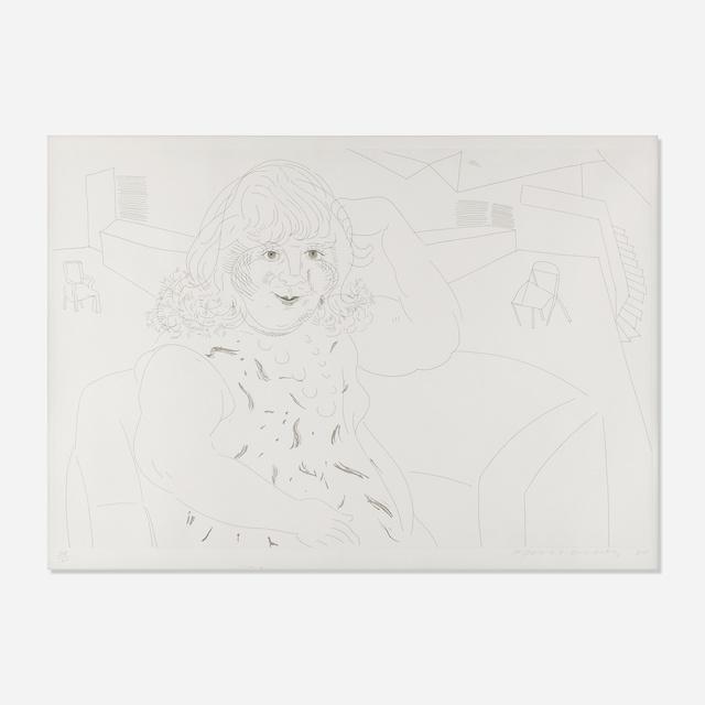 David Hockney, 'Ann in the Studio', Rago/Wright