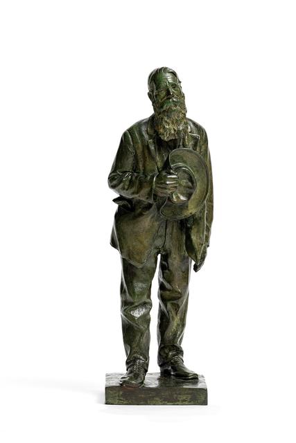 Anton van Wouw, 'Leemans the Postman', 1901, Strauss & Co