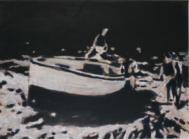 , 'Studie zu Nachtfahrt,' 2009, Beck & Eggeling