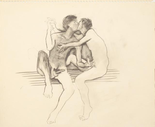 , 'Untitled ( Two Men Masturbating ),' ca. 1980, Galerie Thomas Fuchs