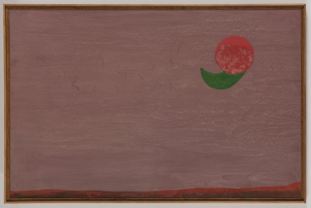 , 'Sole verde,' 1961, Galleria Giovanni Bonelli