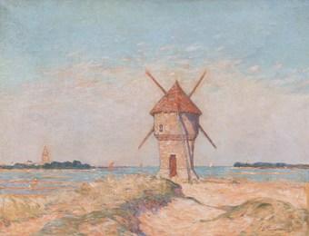 Le moulin de la Mass à Batz