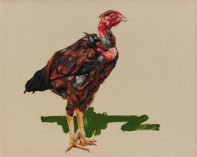 , 'from series O vendedor de galinhas: Lassim,' 2014, Baró Galeria