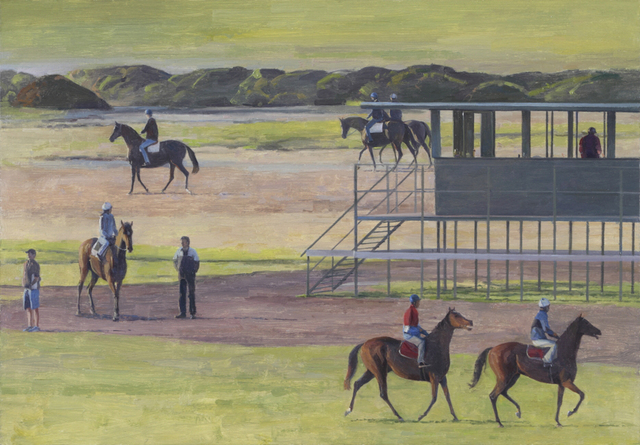 , 'Trackwork at Flemington #5,' 2014, Charles Nodrum Gallery