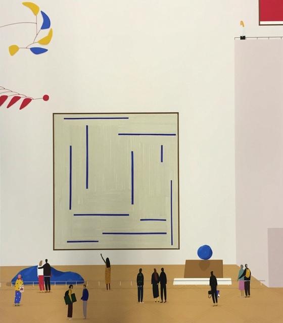 , 'Trio Of Blue,' 2015, Rebecca Hossack Art Gallery