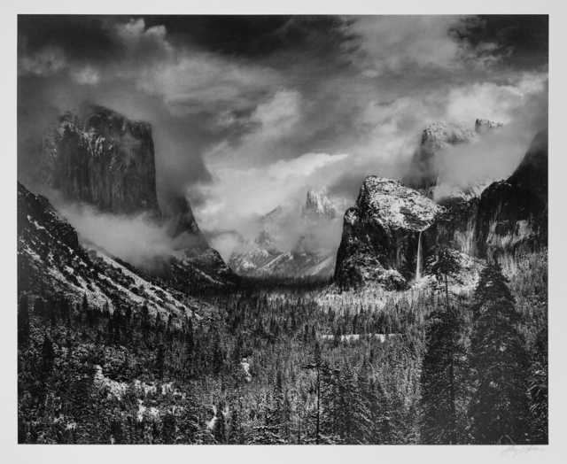 , 'Clearing Winter Storm, Yosemite National Park, California,' 1944, Photography West Gallery