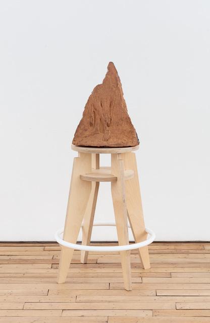 , 'she swipes shallow space by the slide drawer (sliding),' 2018, Rachel Uffner Gallery