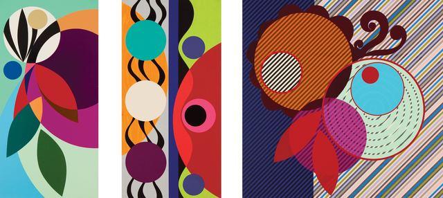 Beatriz Milhazes, 'Pimenta vermelha (Red pepper)', 2010, Marlborough Graphics