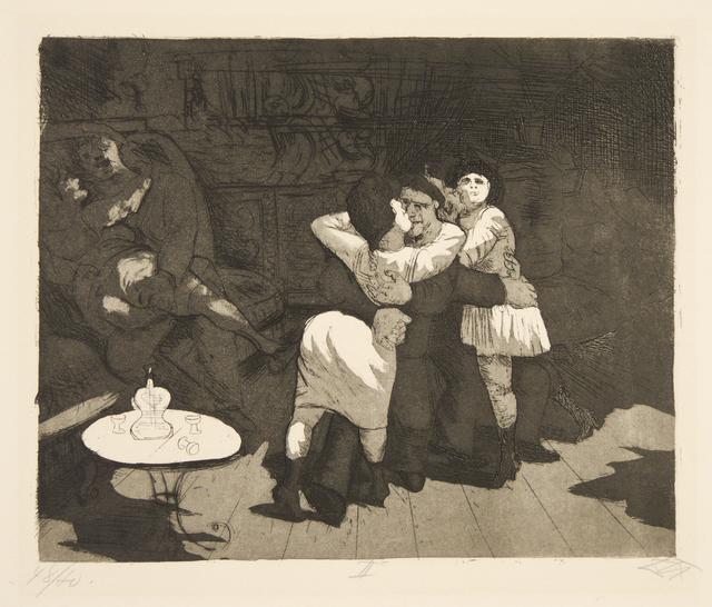 , 'Sailors in Antwerp,' 1924, Galerie St. Etienne