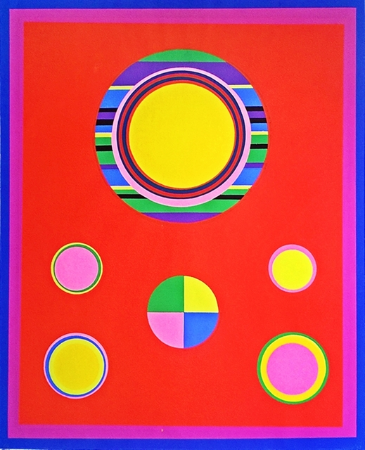 John Grillo, 'Untitled Screenprint', 1969, Alpha 137 Gallery
