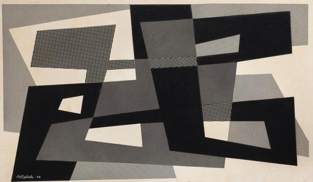 , 'Composición,' 1953, Galería de las Misiones