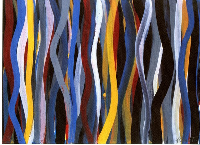 , 'Brushstrokes: Horizontal and Vertical (One Vertical Plate),' 1996, Alpha 137 Gallery